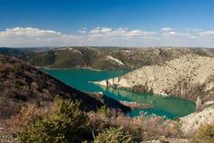 Национальный парк krka реки стоковая фотография rf