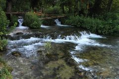 национальный парк krka Хорватии стоковое изображение rf