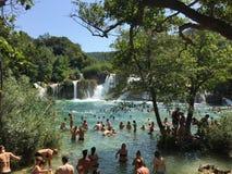 Национальный парк Krka, Хорватии стоковые изображения