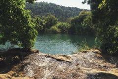 Национальный парк Krka - buk Skradinski водопада Стоковое Фото