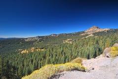 Национальный парк Lassen вулканический в Калифорнии Стоковое Изображение RF