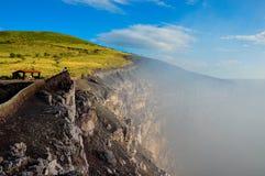Национальный парк Masaya Volcan, Никарагуа Стоковые Фото