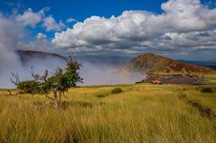 Национальный парк Masaya Volcan, Никарагуа Стоковое фото RF