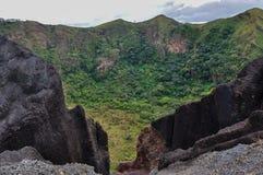 Национальный парк Masaya Volcan, Никарагуа Стоковое Изображение RF