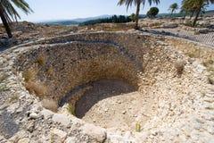 Национальный парк Megiddo телефона Стоковое Изображение RF