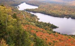 Национальный парк Mont Tremblant в осени Стоковые Изображения