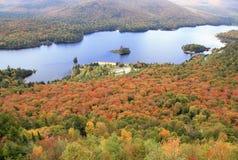 Национальный парк Mont Tremblant в осени Стоковая Фотография