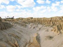 Национальный парк Mungo, NSW, Австралия Стоковое Изображение RF