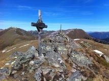 Национальный парк Nockberge, Австрия Стоковые Изображения RF