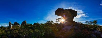Национальный парк PA Hin Ngam Стоковая Фотография