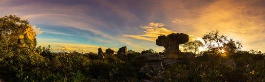 Национальный парк PA Hin Ngam Стоковые Изображения