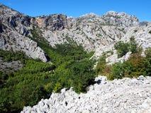 Национальный парк Paklenica Стоковое Изображение