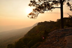 Национальный парк Phu Kradueng Стоковые Изображения