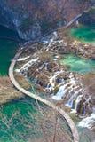 Национальный парк Pitvice Стоковое Изображение