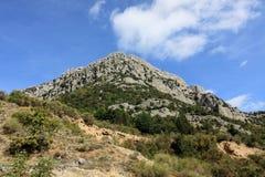 Национальный парк Pollino в Калабрии Италии Стоковые Фото
