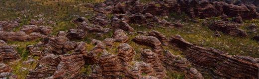 Национальный парк Purnululu (путаница путаницы) Стоковая Фотография RF