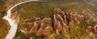 Национальный парк Purnululu (путаница путаницы) Стоковое Изображение RF