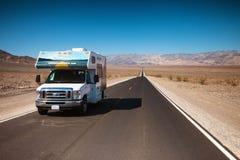 Национальный парк RV Death Valley Стоковое Фото
