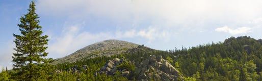 Национальный парк Taganay, Россия. Гора Kruglitsa Стоковое Фото