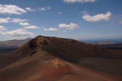 Национальный парк Timanfaya вулкана Стоковая Фотография