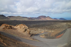 Национальный парк 003 Timanfaya Стоковое Изображение