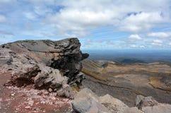 Национальный парк Tongariro Стоковые Изображения RF