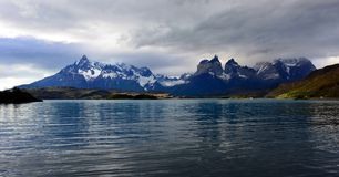 Национальный парк Torres del Paine, Патагония, Чили Стоковые Изображения