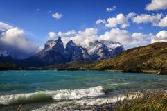 Национальный парк Torres del Paine, Чили Стоковые Фотографии RF