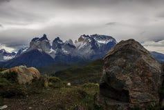 Национальный парк Torres del Paine, Чили Стоковое фото RF