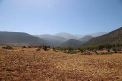 Национальный парк Toubkal в Марокко Стоковая Фотография
