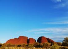 Национальный парк Uluru-Kata Tjuta Стоковые Изображения