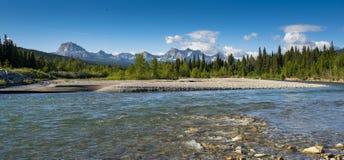Национальный парк Waterton Стоковая Фотография