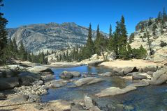 Национальный парк Yosemite в Калифорнии Стоковое фото RF