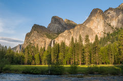 Национальный парк Yosemite, Калифорния, США Стоковое Фото