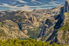 национальный парк yosemite купола половинный Стоковые Фотографии RF