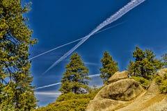 национальный парк yosemite купола половинный Стоковое Фото