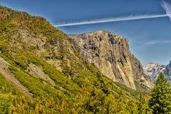 национальный парк yosemite купола половинный Стоковые Фото
