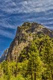 национальный парк yosemite купола половинный Стоковое фото RF