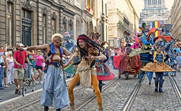 Национальный праздник в Брюсселе Стоковые Фотографии RF