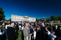 Национальный праздник в Норвегии Стоковое Изображение