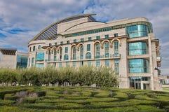 Национальный театр Венгрии Стоковое Изображение RF