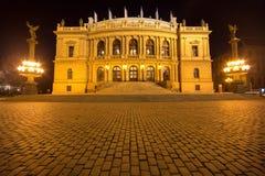 Национальный театр в Праге стоковые фото