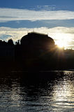Национальный театр, Прага, чехия Стоковые Фото