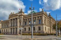 Национальный театр страсбурга стоковое фото