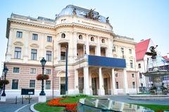 Национальный театр словака стоковое фото