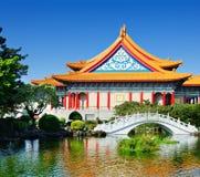 Национальный театр Тайваня стоковые фото