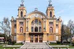 Национальный театр Lucian Blaga в Cluj Стоковое Фото