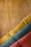 Национальный флаг Колумбии Стоковая Фотография