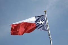 Национальный флаг Техас Стоковое Фото