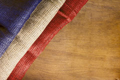 Национальный флаг франция Стоковое фото RF